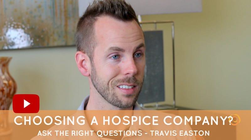 choosing a hospice company