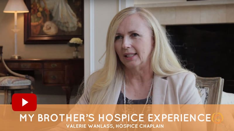 my brother's hospice experience