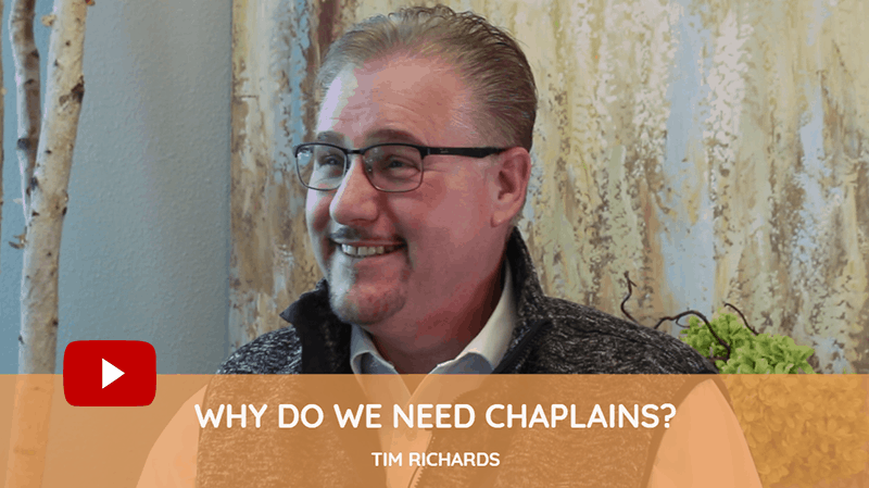 why do we need chaplains in hospice?