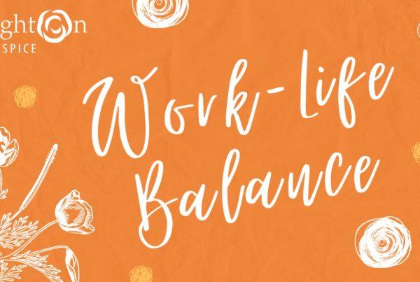 Self Care Series Subtitle Slide Work Life Balance